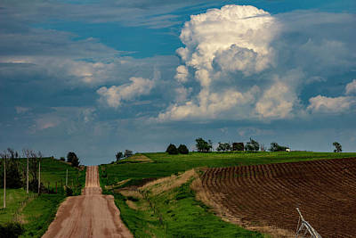 Photograph - Central Nebraska Stormscapes 017 by NebraskaSC