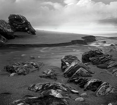 Photograph - Central Oregon Coast by Leland D Howard