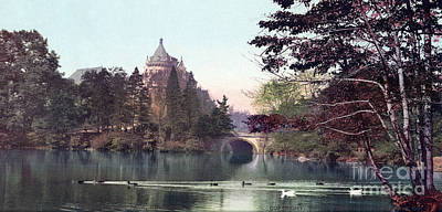 Photograph - Central Park, 1901.  by Granger