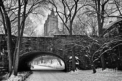 Central Park And The San Remo Building Art Print by John Farnan