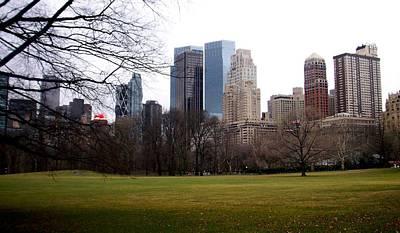 Photograph - Central Park by Anita Burgermeister