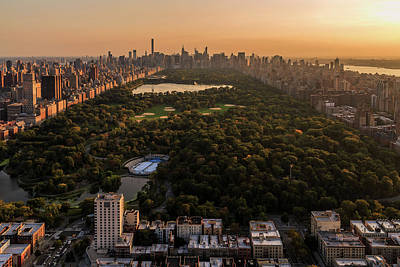 Photograph - Central Park by Anthony Fields