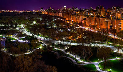 Photograph - Central Park II by M G Whittingham