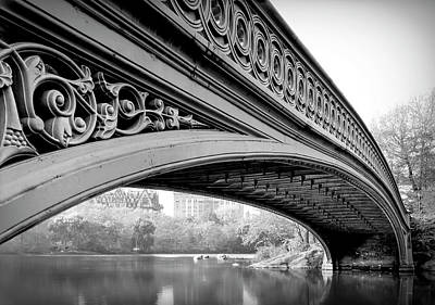 Photograph - Central Park Bow Bridge by Daniel Hagerman