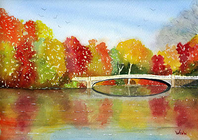 Painting - Central Park by Brett Winn