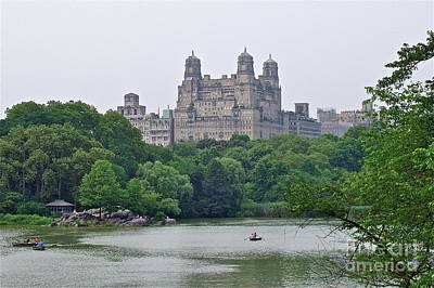 Photograph - Central Park by Carol  Bradley