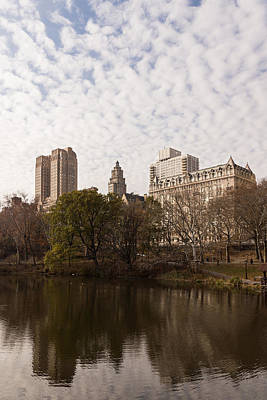 Photograph - Central Park Glamorous Apartment Buildings - Manhattan Upper West Side by Georgia Mizuleva