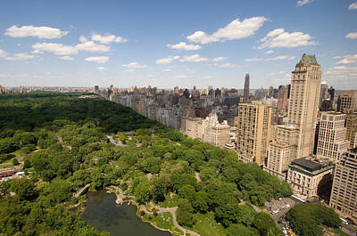 Central Park In New York City Art Print by Joel Sartore