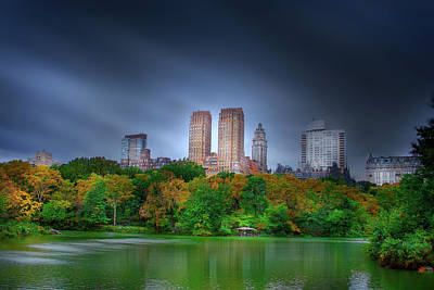Photograph - Central Park by Mark Andrew Thomas