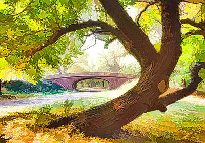 Central Park New York City Art Print by Lanjee Chee