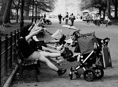 N.y Photograph - Central Park New York City by Mark Ashkenazi