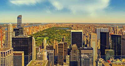 Photograph - Central Park Panorama by Walkerssk