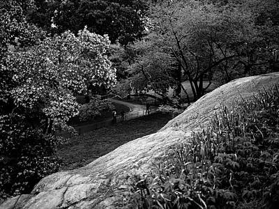 Photograph - Central Park Path II by M G Whittingham