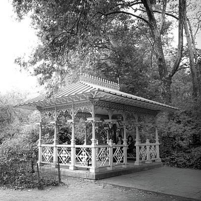 Photograph - Central Park Pavilion by Jessica Jenney