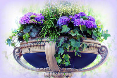 Flower Planter Photograph - Central Park Planter by Jessica Jenney