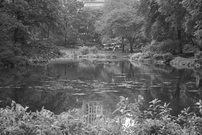 Photograph - Central Park Pond by Christopher Kirby