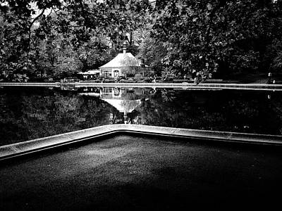 Photograph - Central Park Pond by M G Whittingham