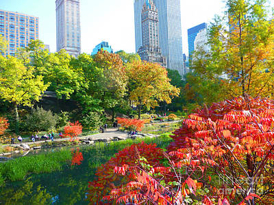 Painting - Central Park by Artists With Autism Inc