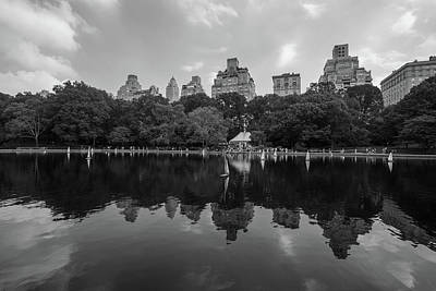Photograph - Central Park Sail Boats  by John McGraw