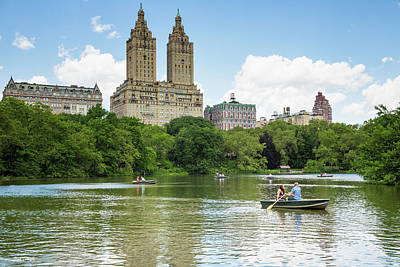 Photograph - Central Park Summer by Fran Gallogly