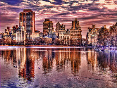 Photograph - Central Park Sunset by Tammy Wetzel