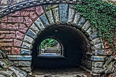 Photograph - Central Park Tunnel by Sandy Moulder