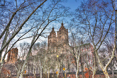 Central Park West Photograph - Central Park West In Winter 2 by Randy Aveille