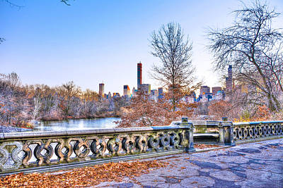 Central Park West Original by Randy Aveille