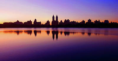 Photograph - Central Park West Silhouette by Christopher McKenzie