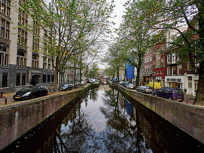 Photograph - Central Perspective. Amsterdam by Jouko Lehto