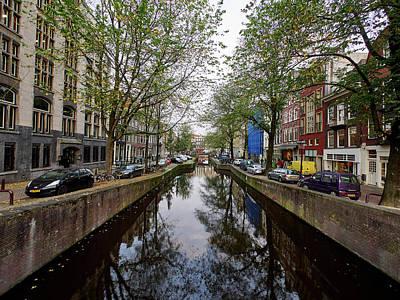 Photograph - Central Perspective. Amsterdam by Jouko Lehto