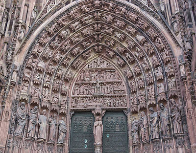 Photograph - Central Portal Of The Cathedral by Teresa Mucha