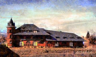 Photograph - Central Railroad Of New Jersey Freight Station In Scranton Pa by Janine Riley