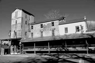 Photograph - Central Roller Mill 2 by Rodney Lee Williams