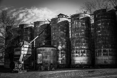 Photograph - Central Roller Mill 3 by Rodney Lee Williams