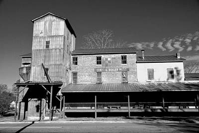 Photograph - Central Roller Mill by Rodney Lee Williams