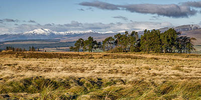 Photograph - Central Scotland Scenery by Jeremy Lavender Photography