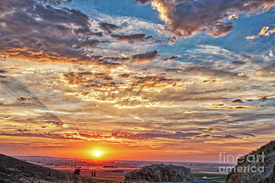 Photograph - Central Sunset 13.1 by Stefano Carini