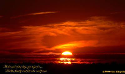 Photograph - Central Sunset by Kimo Fernandez