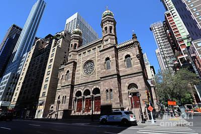 Photograph - Central Synagogue- 652 Lexington Ave  by Steven Spak