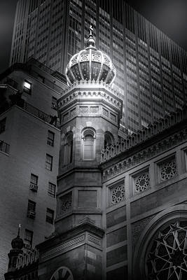 Photograph - Central Synagogue In Manhattan by Mark Andrew Thomas