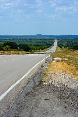 Photograph - Central Texas Byway by Tikvah's Hope