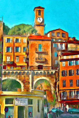 Digital Art - Central Tower At Cannes by Yury Malkov