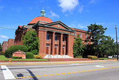 Photograph - Central United Methodist Church by Joseph C Hinson Photography