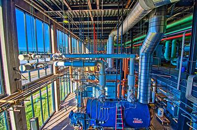 Photograph - Central Utility Plant by Jonny D