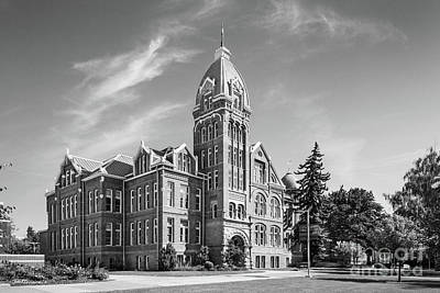 Photograph - Central Washington University Barge Hall by University Icons
