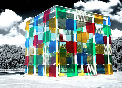 Photograph - Centre Pompidou Malaga by John Rizzuto