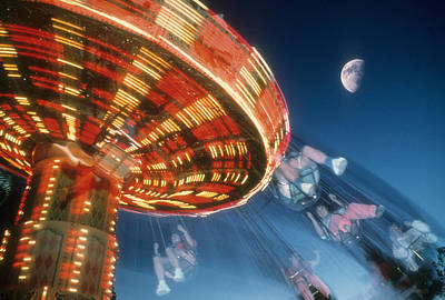 Photograph - Centrifugal Amusement by Gerard Fritz