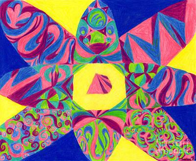 Centrifugal Art Print by Kim Sy Ok