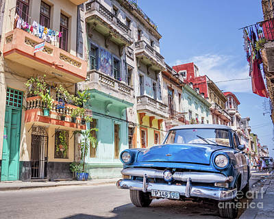 Centro Habana Art Print by Delphimages Photo Creations